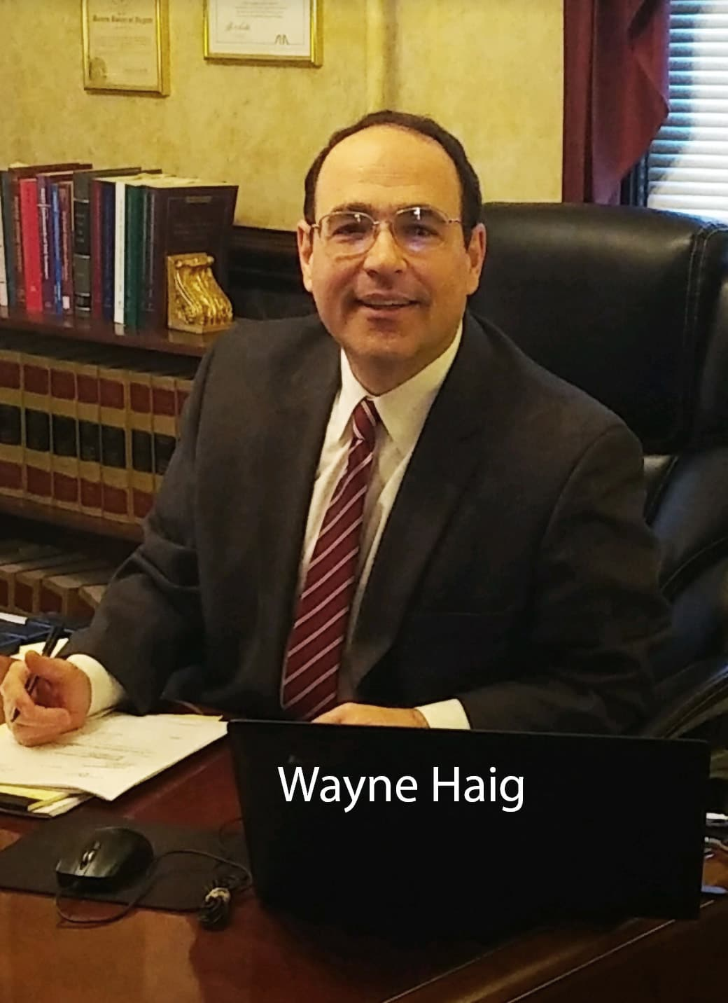 Workers Compensation Attorney Wayne Haig